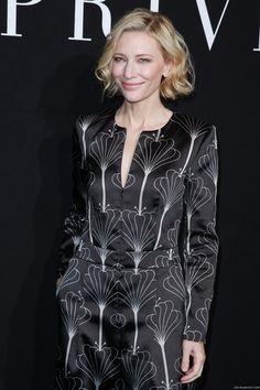 Paris Fashion Week - Giorgio Armani Prive Haute Couture F/W 2016-17 - July 5th, 2016 - 001 - Cate Blanchett Fan | Cate Blanchett Gallery