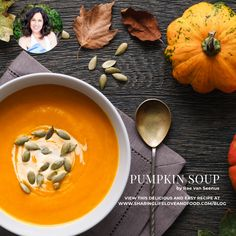 Pumpkin Pie Mix, Pumpkin Soup, Pumpkin Puree, Small Cafe, Vegetable Stock, Creme Fraiche, Serving Size, Easy Meals
