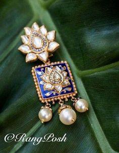 bridal jewelry for the radiant bride India Jewelry, Gold Jewelry, Jewelery, Jewellery 2017, Pearl Jewelry, Jewelry Sets, Luxury Jewelry Brands, Uncut Diamond, Jewelry Branding