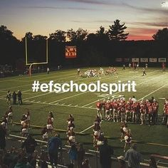 Yes we do, we've got spirit, how about you? This month we want to hear all about your #efschoolspirit Share photos of high school rivalries, sports competitions and homecoming weeks by tagging photos with #efschoolspirit