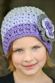 Baby Toddler Child Tween Tricolor Beanie by CraftingAdventures, $14.00