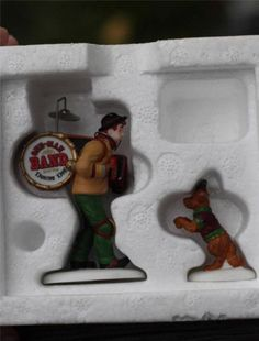 "Dept 56 ""One Man Band & The Dancing Dog"" Heritage Village Collection Accessories"