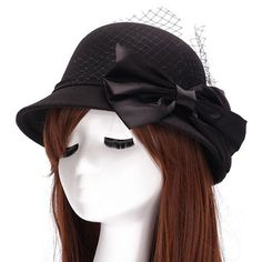 GET $50 NOW | Join RoseGal: Get YOUR $50 NOW!http://www.rosegal.com/hats/chic-big-bow-and-mesh-303483.html?seid=1424208rg303483