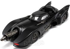 1989 ''Batman the Movie'' Batmobile 1:18 Scale - Hot Wheels Diecast Model