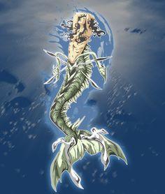 Tumblr Philippine Mythology, Mythical Creatures, Enchanted, Philippines, Mermaid, Art, Art Background, Magical Creatures, Kunst