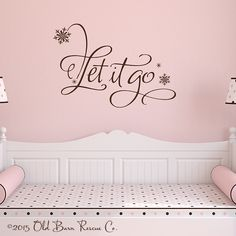 Let It Go - Vinyl Wall Decals & Stickers