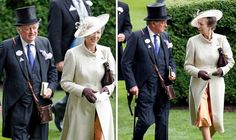 """PRINCESS Anne was involved in a royal love triangle when she had a """"torrid affair"""" with Camilla Parker Bowles' husband Andrew in the Seventies, according to royal experts. Timothy Laurence, Peter Phillips, Prince Charles And Camilla, Camilla Parker Bowles, Princess Anne, Duchess Of Cornwall, Royal Ascot, Love Affair, British Royals"""