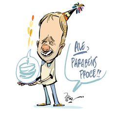 Rico studio / charges . ilustrações . cartuns . quadrinhos: Festa!