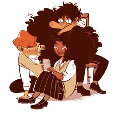 The golden trio Harry, Ron and Hermione Harry Potter Illustrations, Harry Potter Drawings, Harry Potter Fan Art, Harry Potter Universal, Harry Potter Fandom, Harry Potter World, Harry Potter Memes, Drarry, Hermione Granger