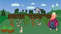 """Przejrzyj mój projekt w @Behance: """"Farmer"""" https://www.behance.net/gallery/36642435/Farmer"""