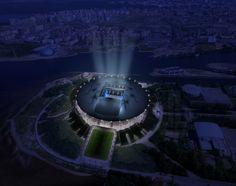 kisho kurokawa zenit stadium designboom