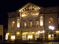 Theater in Baden-Baden, Baden-Württemberg, Germany