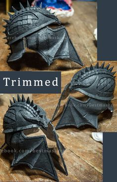 Inspired Dragon Age Inquisition Helmet Inquisitor by Maskforsale