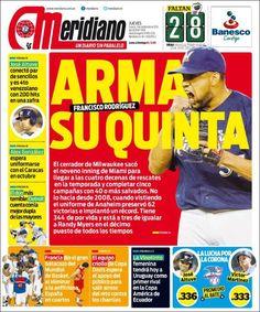#Portadas #Nacionales #PrimeraPagina #Titulares #Noticias #DesayunoInformativo @MeridianoTV