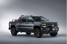 Get this as a Ford Raptor rather than a Chevy - Chevy Silverado Black Ops Concept Is The Perfect Vehicle For The Zombie Apocalypse, Gallery 1 - MotorAuthority
