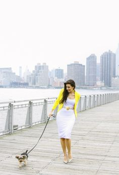Long Island City with Emily Brickel | The Style Line The Style Line. Photo Credit : TheStyleLine.com, Emily Brickel Fashion Illustrator