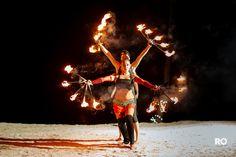 fire dancers..  #rodelrio #photography #rivieramaya #destiinationwedding