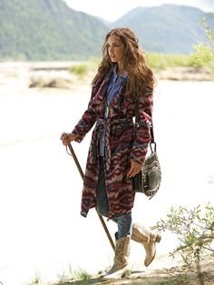 Belted Wrap Coat 10/2012