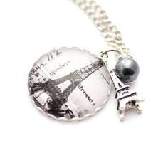 From Paris Necklace Silver, 20€, now featured on Fab.