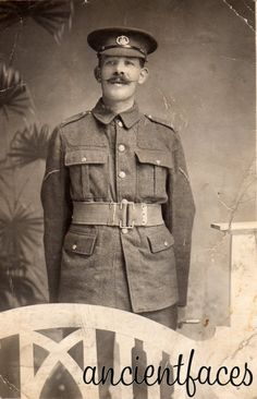 Missing in action British WWI soldier.