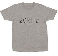 人間が音として聞き取れる周波数はおおよそ20Hzから20kHzと言われています