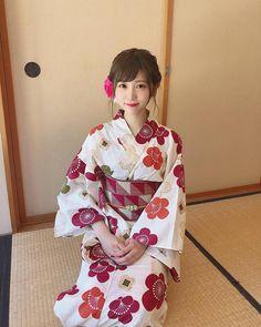 畠山みなみ Japanese Beauty, Asian Beauty, Japanese Yukata, Japan Woman, Summer Kimono, Japanese Characters, Geisha, Traditional Outfits, My Girl