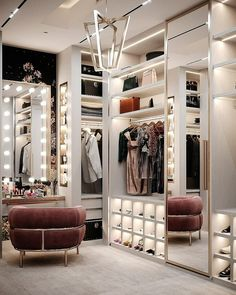 The way you decorate your home is somehow similar to choosing beautiful clothes to wear on a daily basis. An impressive interior decoration of your home or office is essential for your own state of mind, if nothing else. Luxury Bedroom Design, Bedroom Closet Design, Closet Designs, Bedroom Decor, Luxury Kids Bedroom, Luxury Kitchen Design, Wood Bedroom, Girls Bedroom, Master Bedroom