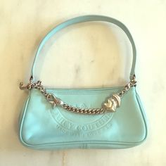 Juicy Couture Purse Like new, adorable baby blue Juicy purse! Juicy Couture Bags