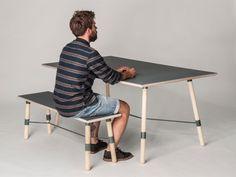 Table/Bench by Christian Juhl, via Behance