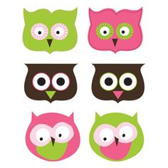 Printable Owl Favor/Treat Bag Toppers
