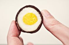 Homemade Cadbury Cream Eggs. Go ahead, make the easter bunny jealous. #glutenfree
