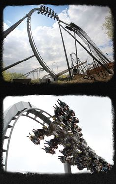 The Swarm - Thorpe Park, UK's 1st WingRider Rollercoaster
