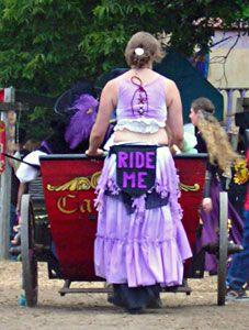 minnesota renaissance festival - Cabriolet driver whimsy