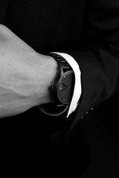 #watch #black #mensfashion