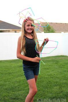 straw hat and rose--kid craft-agirlandagluegun.com