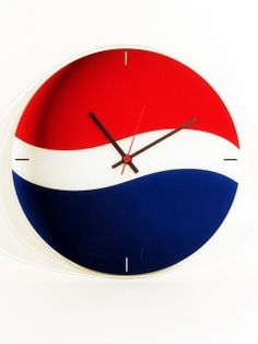 Wall Clock for Pepsi Cola