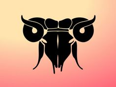 astrology Aries symbol zodiac vector