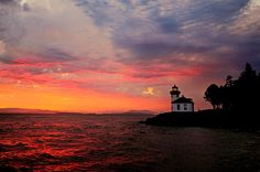 Lime Kiln Light House, San Juan Island - Dagmar Woltereck photo