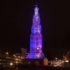 Temporal Tower - #GdeBfotografeert #amsterdamlightfestival