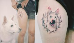 Cute tattoo by Tattooist Doy.