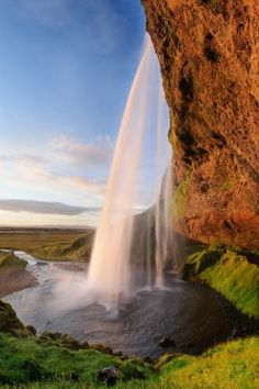 Iceland Waterfall by shacomi