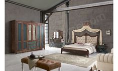 Royal Country Yatak Odası Balhome Mobilya