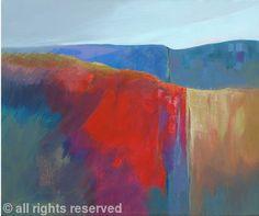 """""""A New Day"""" by Sheila Marlborough - Acrylic on canvas"""