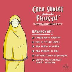 Tips agar sholat khusyu' Quran Quotes Inspirational, Islamic Love Quotes, Muslim Quotes, Hadith Quotes, Hijrah Islam, Doa Islam, Reminder Quotes, Self Reminder, Book Quotes