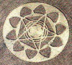 1993.09.03-04 'Mandala' (45m), Bythorn, Cambridgeshire, blé [2]
