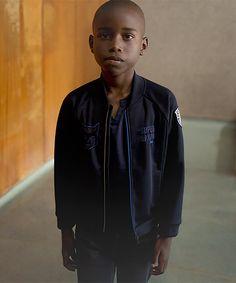 Cardigan bleu marine IKKS Kid Boy, collection Printemps-Eté 16 #SS16