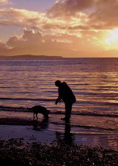 Beach Walk by James Bullis-King