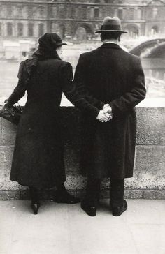 """Paris 1937 """"River Seine"""""""