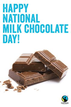 🍫 Happy National Milk Chocolate Day! Click the Pin for a list of chocolatiers who proudly use Fairtrade certified ingredients.