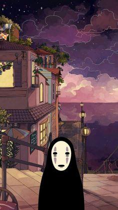 Cartoon Wallpaper, Wallpaper Animes, Anime Scenery Wallpaper, Cute Anime Wallpaper, Painting Wallpaper, Painting Canvas, Canvas Art, Iphone Wallpaper Drawing, Desktop Wallpaper 1920x1080